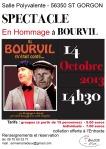 affiche bourvil ST GORGON