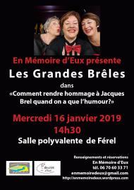 affiche 16 janvier 2019