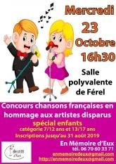 Affiche concours enfants