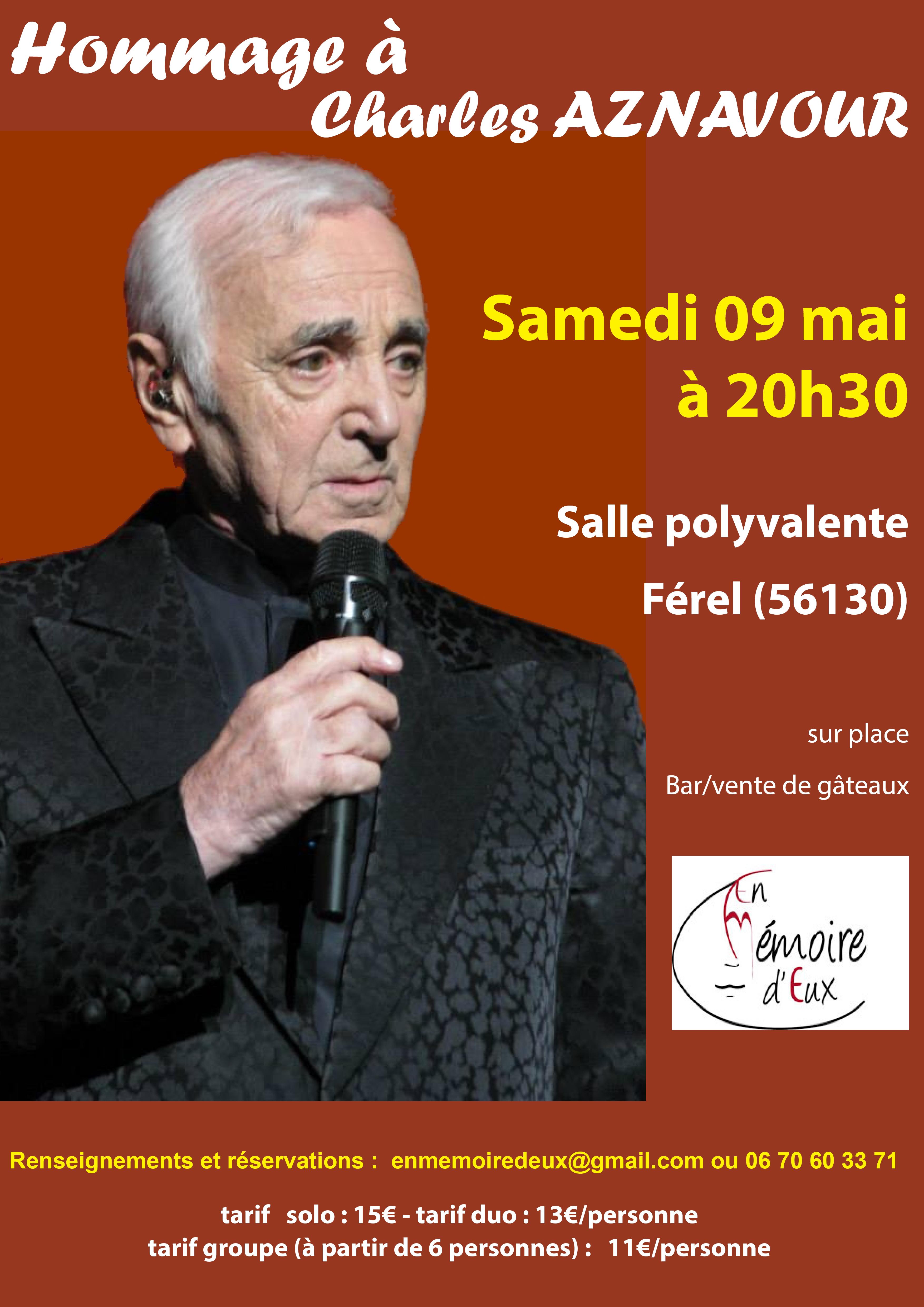 affiche Aznavour